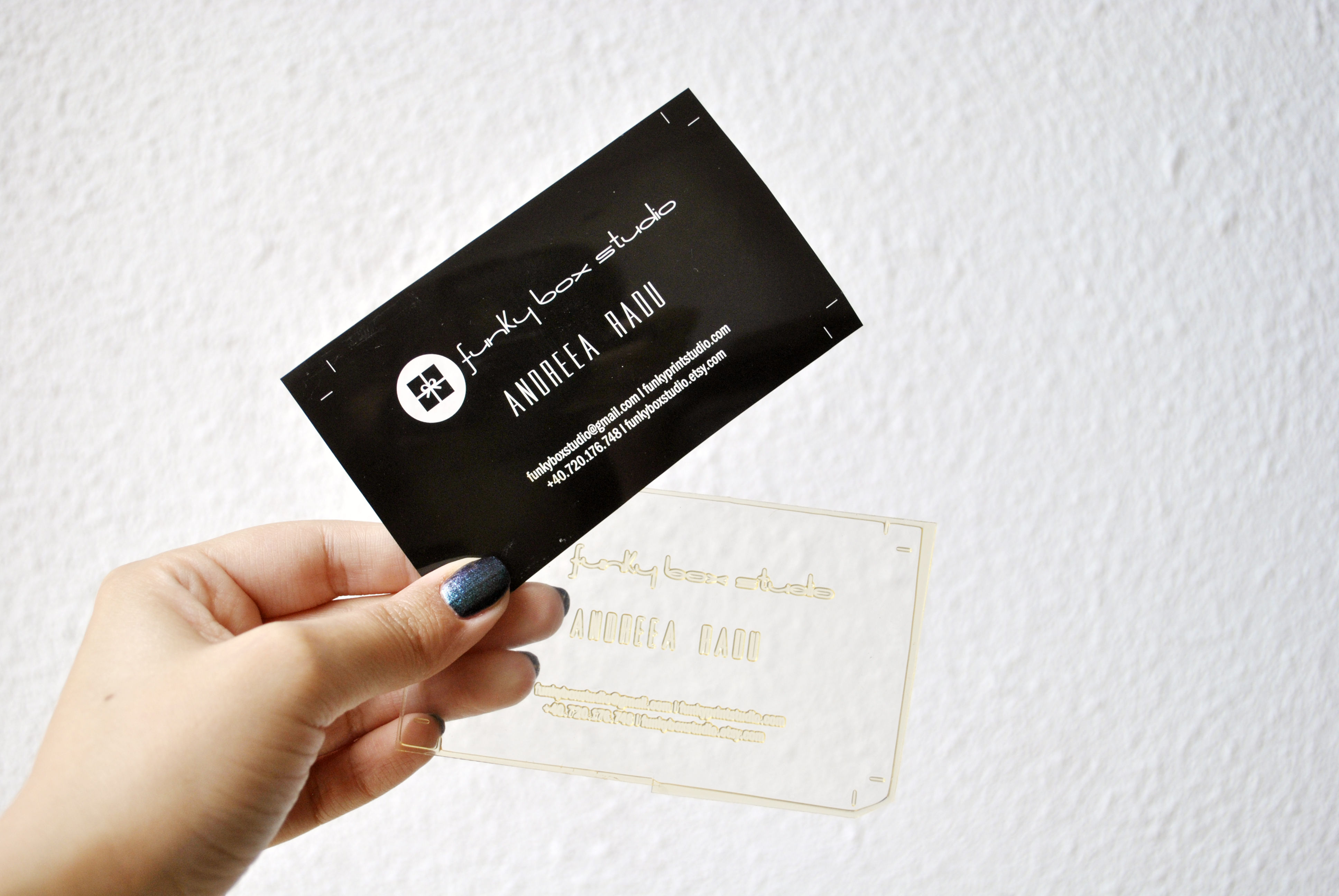 Letterpress flat cards funky box studio letterpress business cards colourmoves